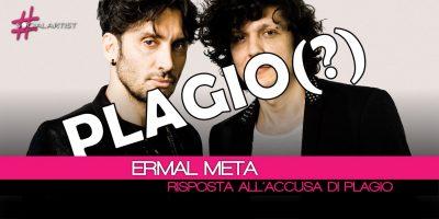 Festival di Sanremo, Ermal Meta risponde alle accuse di plagio!