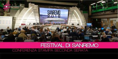 Conferenza Stampa Festival di Sanremo 2018 – 8 febbraio