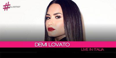 Demi Lovato, fa tappa anche in Italia il Tell Me You Love Me World Tour