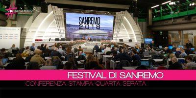 Conferenza Stampa Festival di Sanremo 2018 – 10 febbraio