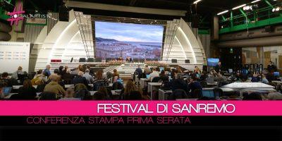 Conferenza Stampa Festival di Sanremo 2018 – 7 febbraio