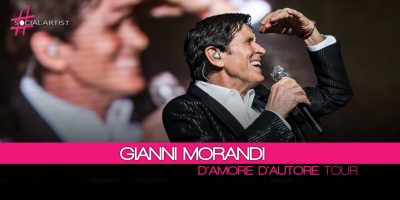 Gianni Morandi, D'Amore D'Autore Tour sbarca a Rimini con un SOLD OUT