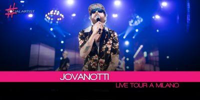 Jovanotti, ieri sera la prima del tour al Forum di Assago di Milano