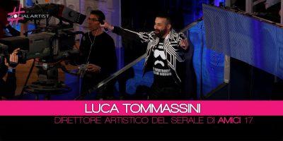 Amici 17, Luca Tommassini è ufficialmente il direttore artistico del serale!