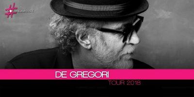Francesco De Gregori, dal 6 luglio inizia il Tour 2018!