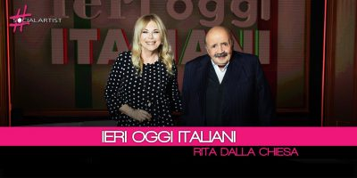 Ieri Oggi Italiani, al via da lunedì il nuovo format condotto da Rita dalla Chiesa
