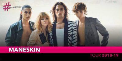 Maneskin, dal 10 novembre partirà il nuovo tour! (DATE)