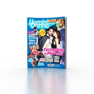 Cover Uomini e Donne Magazine Primo numero