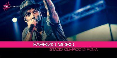 Fabrizio Moro, il 16 giugno in concerto allo Stadio Olimpico di Roma