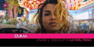 Emma, online il videoclip del nuovo singolo Mi Parli Piano