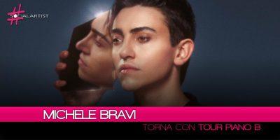 Michele Bravi, torna in due date con il Tour Piano B (A Night with Michele Bravi)