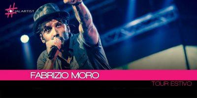 Fabrizio Moro, dal 13 luglio al via il Tour in tutta Italia!