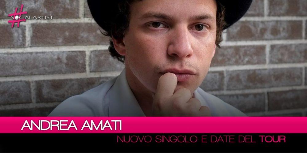"""Andrea Amati, dall'22 giugno arriva in radio """"Bagaglio a mano"""""""