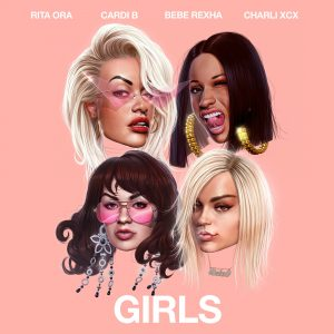 RITA ORA GIRLS CARDI B, BEBE REXHA e CHARLI XCX