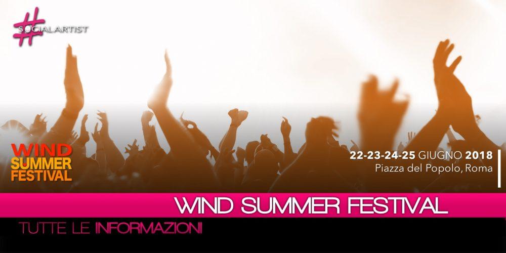 Wind Summer Festival, al via dal 22 giugno l'appuntamento musicale dell'estate di Canale 5