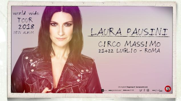 Laura Pausini Circo Massimo Opening