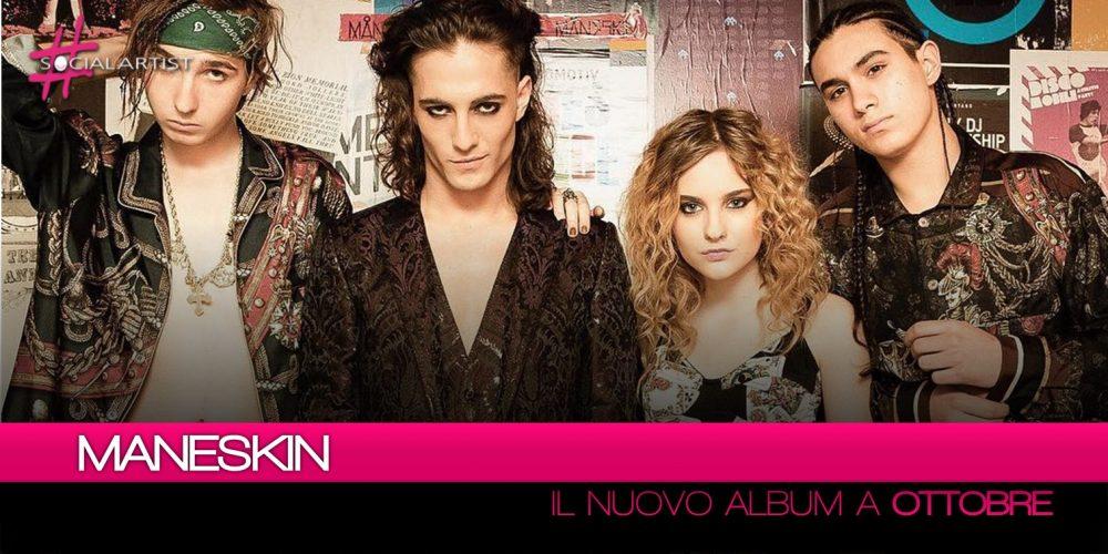 Måneskin, uscirà ad ottobre il nuovo album (DATE DEL TOUR)