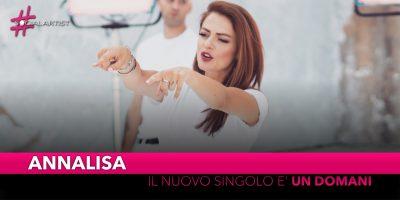 """Annalisa, il nuovo singolo estratto da """"Bye Bye"""" è """"Un Domani"""" feat. Mr. Rain"""