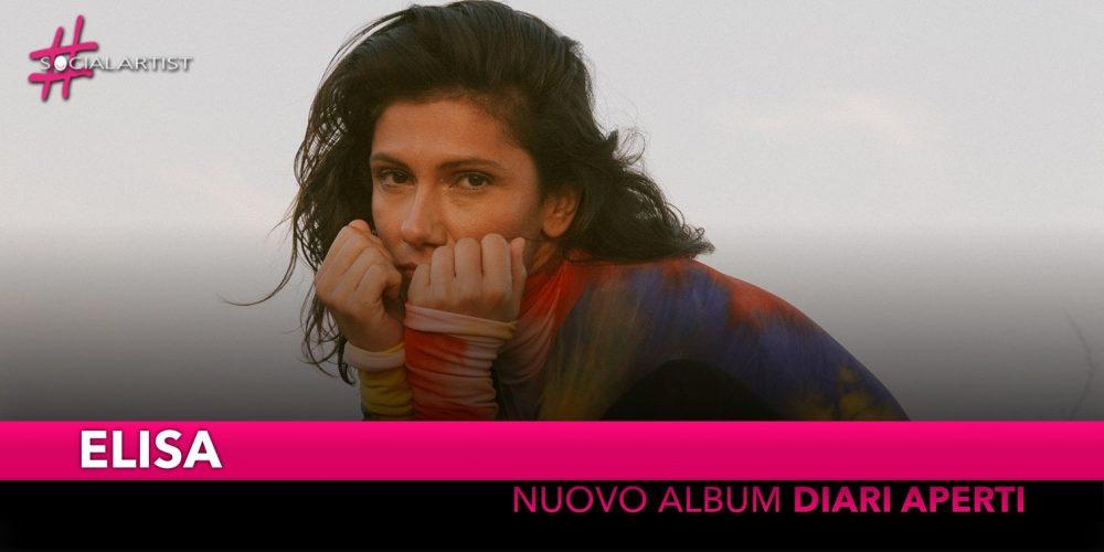 """Elisa, si intitola """"Diari Aperti"""" il nuovo album (Tracklist)"""