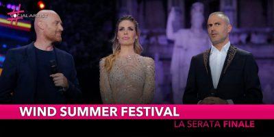 Wind Summer Festival, le info sulla serata finale a Milano!