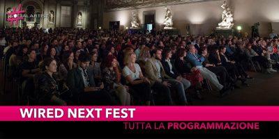 Wired Next Fest, tutti gli ospiti delle tre serate a Firenze