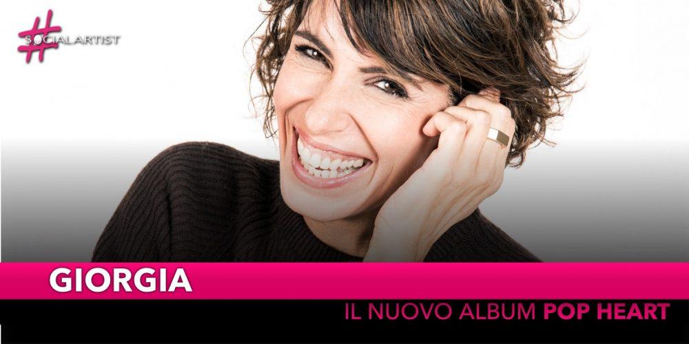 """Giorgia, dal 16 novembre il nuovo album di cover """"Pop Heart"""""""