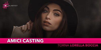 Amici 18, Lorella Boccia co-conduttrice di Amici Casting!