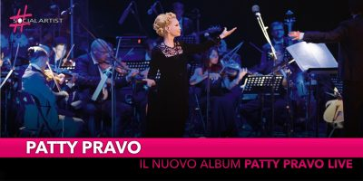"Patty Pravo, dal 26 ottobre nei negozi ""Patty Pravo Live"""
