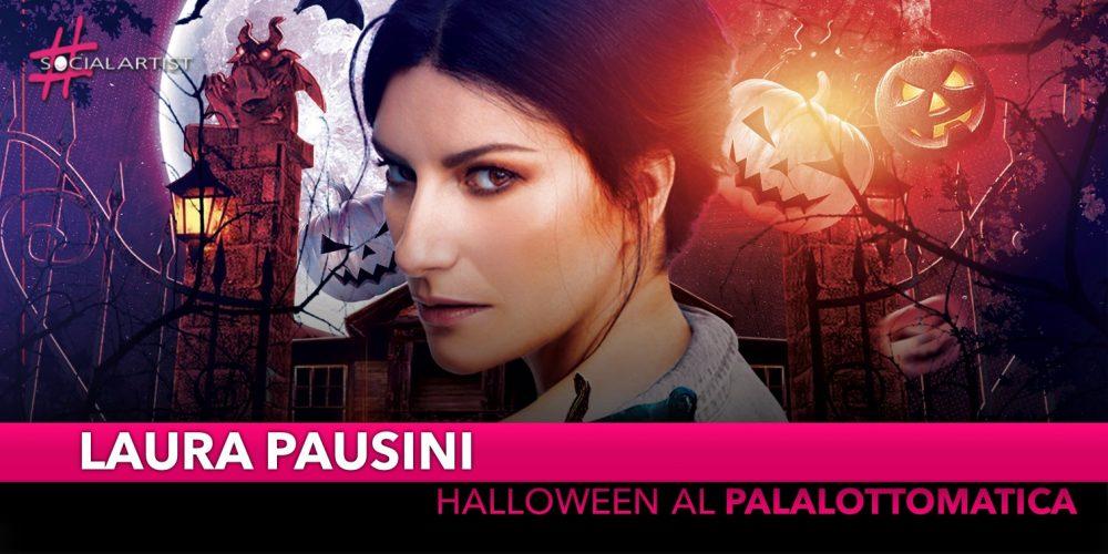 Laura Pausini, finale da paura per la leg italiana al Palalottomatica