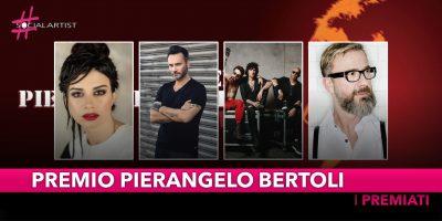 Premio Pierangelo Bertoli: Nek, Dolcenera, Masini e i Negrita i premiati