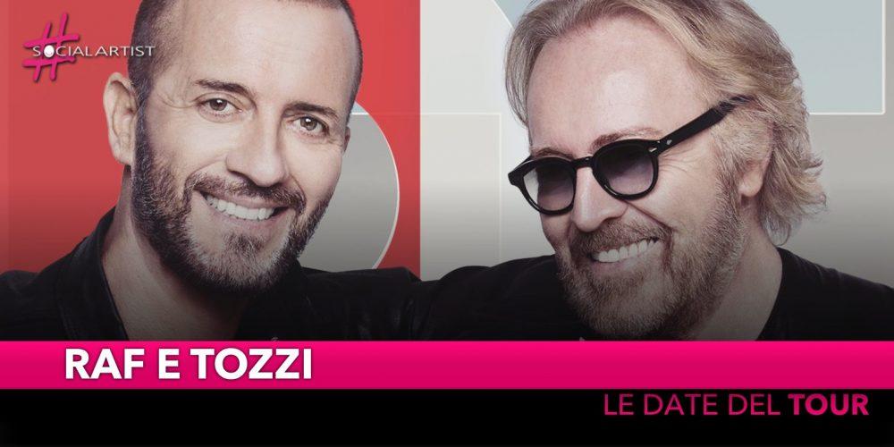 """Raf e Tozzi, tutte le date del """"RafTozzi Tour 2019"""" (DATE)"""
