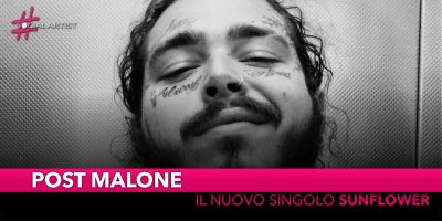 "Post Malone, dal 19 ottobre ""Sunflower"" feat. Swae Lee"
