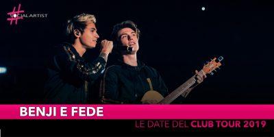 """Benji e Fede, ecco le date del """"Siamo Solo Noise – Club Tour"""" (DATE)"""