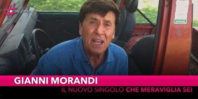 """Gianni Morandi, il nuovo singolo è """"Che Meraviglia Sei"""""""