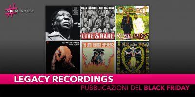 Sony Music, Legacy Recordings annuncia nuove pubblicazioni in vinile per il Record Store Day!