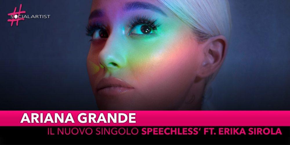 """Ariana Grande, è in radio dal 16 novembre """"Thank You, Next"""""""