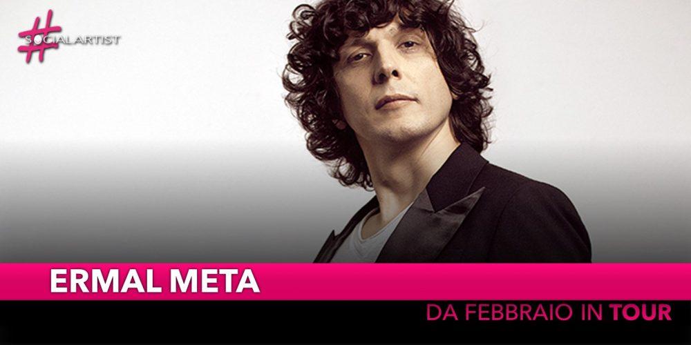 """Ermal Meta, da febbraio in Teatro con """"Gnu QuartetErmal Meta"""""""