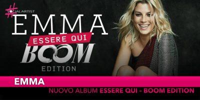 """Emma, dal 16 novembre arriva """"Essere Qui – Boom Edition"""""""