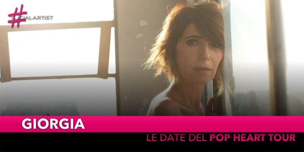 "Giorgia, da aprile partirà il ""Pop Heart Tour"" (DATE)"