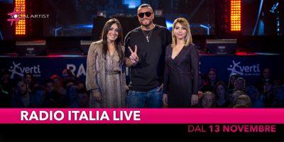 """Dal 13 Novembre torna l'appuntamento con """"Radio Italia Live"""""""