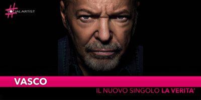 """Vasco, dal 16 novembre il nuovo singolo """"La Verità"""""""