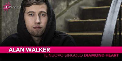 "Alan Walker, dal 16 novembre in radio ""Diamond Heart"""