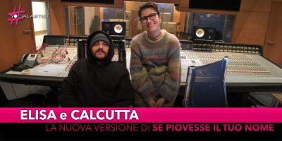 """Elisa e Calcutta, dal 14 dicembre la nuova versione di """"Se Piovesse il Tuo Nome"""""""