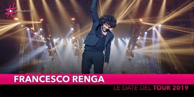 Francesco Renga, live in primavera 2019 (DATE)