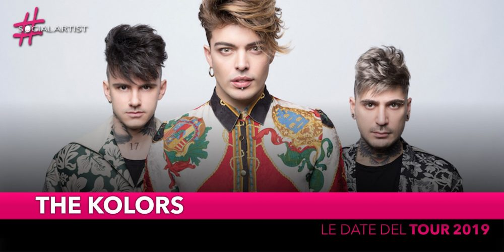 The Kolors, le date del tour in partenza ad aprile 2019! (DATE)