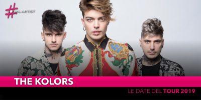 The Kolors, le date del tour in partenza ad aprile 2019! (DATE)