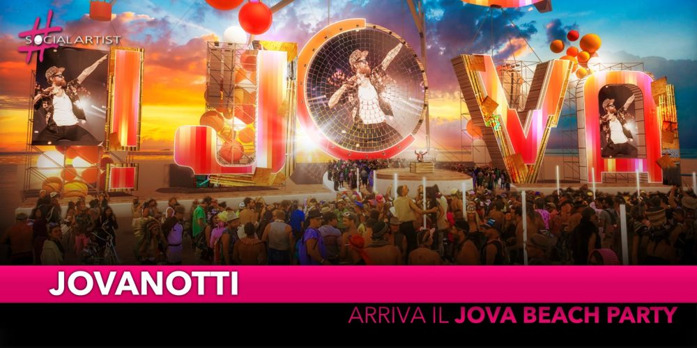 """Jovanotti, l'estate 2019 si colora con """"Jova Beach Party"""" (DATE)"""