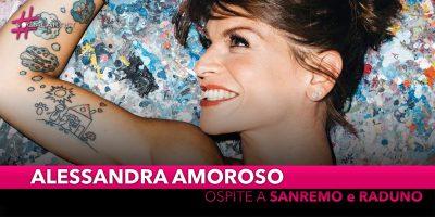 Alessandra Amoroso, ospite a Sanremo 2019 e un raduno alCinecittà World