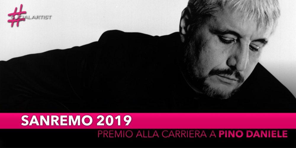 Festival di Sanremo 2019, premio alla carriera per Pino Daniele