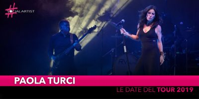 Paola Turci, le date live del 2019!